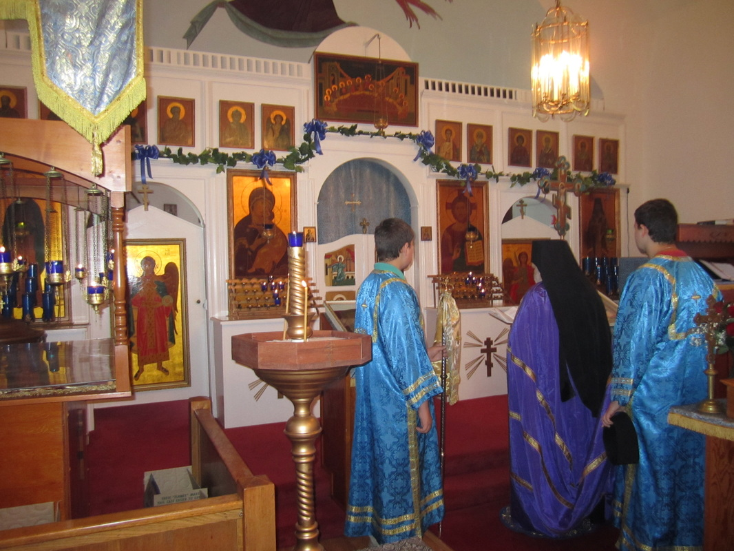 Bishop - Protection of the Holy Virgin Mary Orthodox Church